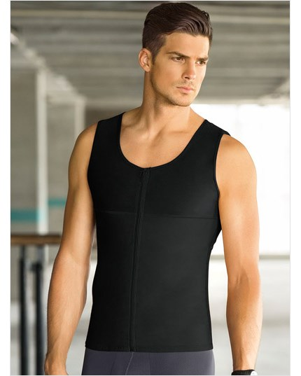 leo torso toner body shaper for men-700- Black-MainImage