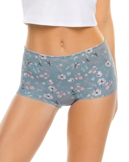 3-pack boyshort comfy panties in cotton--MainImage