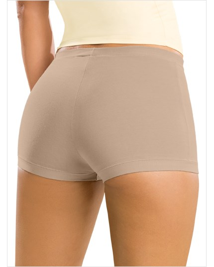 simply comfortable 3-pack boyshort panty in cotton-986- Assorted-MainImage