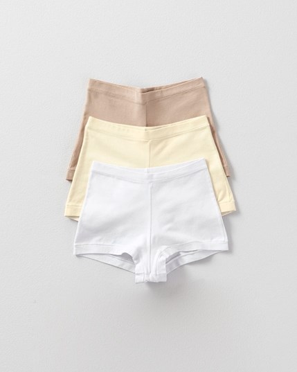 simply comfortable 3-pack boyshort panty in cotton--MainImage
