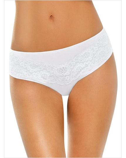 3 brief panties with lace--MainImage
