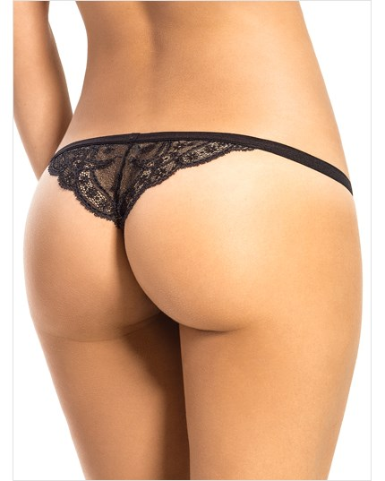3 low rise g-strings with precious lace--MainImage