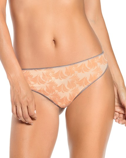 """Hi-cut panties accentuate the legs and give the illusion of a slimmer silhouette. All kinds of panties may be high-cut, including thongs, briefs and bikinis. Sometimes hi-cut panties are called """"French cut"""" panties because the French made this panty style well-known."""