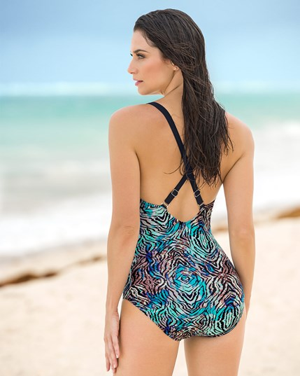 great coverage one-piece swimsuit--MainImage