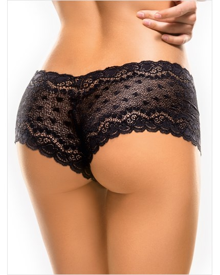 hiphugger style panty in modern lace-700- Black-MainImage