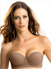 Slimming Strapless Push Up Bra