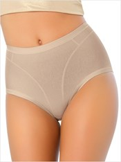 High Cut Panty Shaper in Cotton