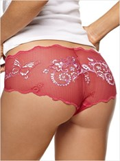Embroidered Lace Hip Hugger