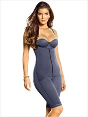 Power Slimmed Mid-Thigh Body Shaper