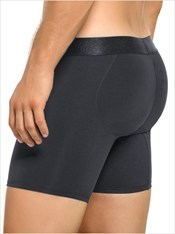 Leo Men's Padded Butt Enhancer Boxer Brief