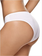 3-Pack Cotton Bikini Panty with Tummy Control