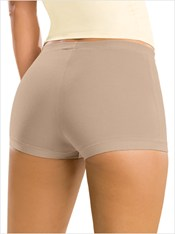 Simply Comfortable 3-Pack Boyshort Panty in Cotton