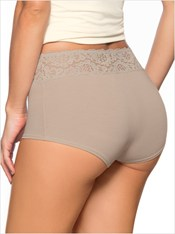 3-pack Hi-Waisted Elegant Boyshorts