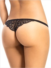 3 Low Rise G-Strings with Precious Lace