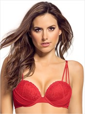 Lacey High Push-Up Balconet Bra