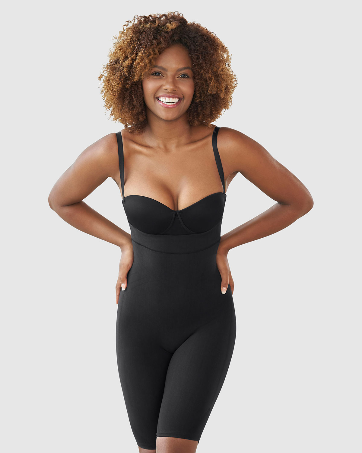 54850bbd83 Leonisa Seamless High Waist Shapewear with Thigh Compression Free ...