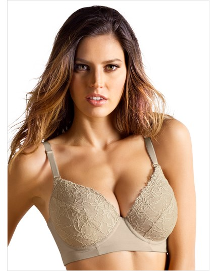Lacey Push-Up Control Bra