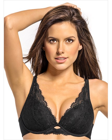 Sensational Lace Push Up Bra