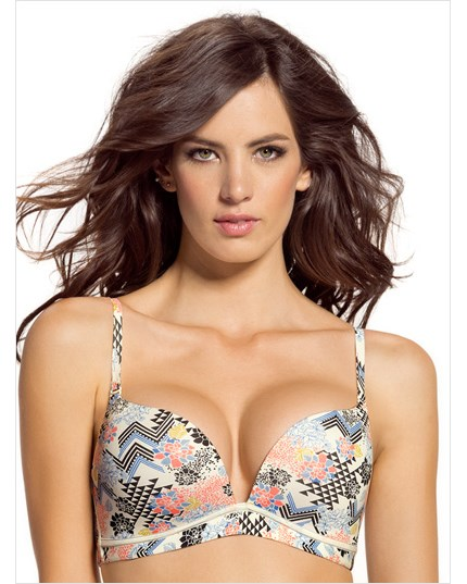 Light Wireless High Push Up Bra