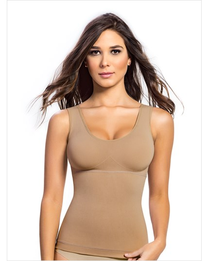 Tummy Smoothing Tank with Back Support