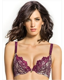 long time favorite magic up bra - maximum uplift-165- Wine and Ivory-MainImage