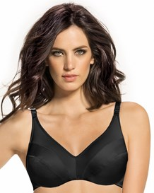 perfect shape triangle bra-700- Black-MainImage