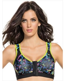 posture corrector wireless back support bra-008- Printed on Black-MainImage