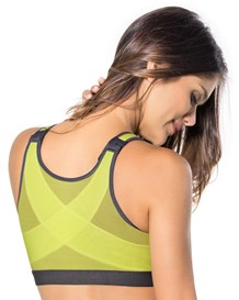 posture corrector wireless back support bra-627- Yellow Green-MainImage