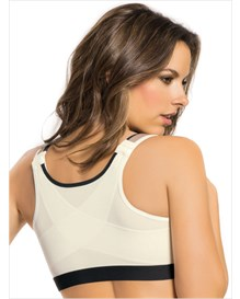 posture corrector wireless back support bra-811- Soft Apricot-MainImage