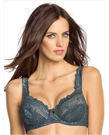 most popular full coverage support bra in lace--MainImage