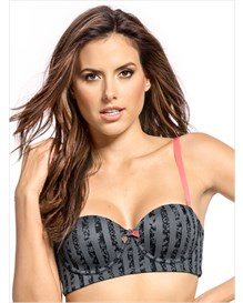 shape and support strapless push-up bra--MainImage