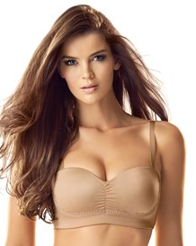 strapless balconet bra-857- Brown-MainImage