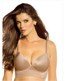 deep plunge wireless push up bra--MainImage