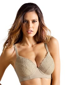 lacey push-up control bra-802- Nude-MainImage
