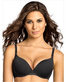 delicate push up comfort bra-700- Black-MainImage