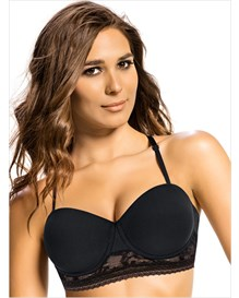 natural push-up bra with delicate lace--MainImage