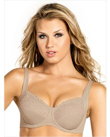 full coverage bra with delicate lace-802- Nude-MainImage