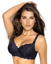 back smoothing lace bra-700- Black-MainImage