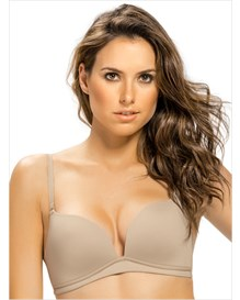 light wireless high push up bra-802- Beige-MainImage