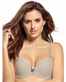 seamless support triangle bra--MainImage