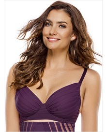 retro full coverage bra-414- Wine-MainImage