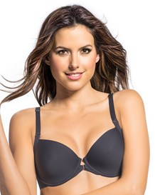 zero visibility front closure bra-795- Dark Gray-MainImage