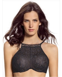 delicate high-neck bra--MainImage