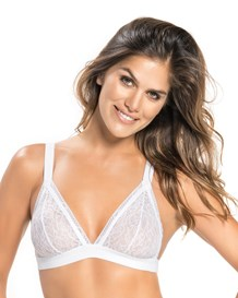 lace triangle bralette-000- White-MainImage