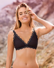 bralette triangular en encaje con aplique bordado-700- Black-MainImage