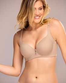 high profile push up bra with full coverage-802- Nude-MainImage