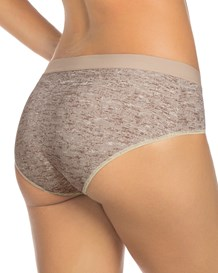 semi low-rise smooth hiphugger panty-830- Gray-MainImage