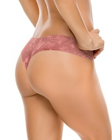 no ride-up seamless thong panty-118- Pink-MainImage