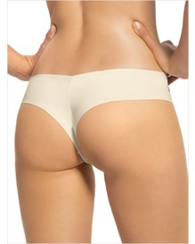 no ride-up seamless thong panty-165-Ivory Print-MainImage