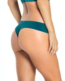 no ride-up seamless thong panty-728- Dark Green-MainImage